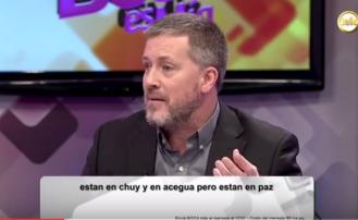 """Gabriel Ben Tasgal en el programa """"Esta Boca es Mía"""" (Uruguay)"""