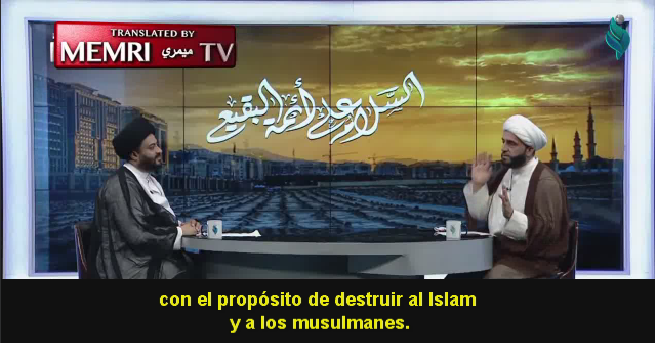 """Presentador de la televisión iraquí: Los wahabíes son """"judíos islámicos"""" sionistas plantados en Hejaz por los masones"""