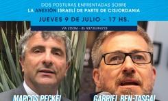 Peckel vs Ben-Tasgal debaten sobre el Plan del Siglo de Donald Trump (soberanía israelí en parte de Judea y Samaria)