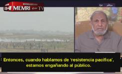 """Fundador de Hamás: """"Estamos mintiendo. Lo nuestro no es una resistencia pacífica"""""""