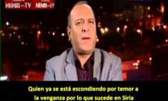 Activista anti Assad critica y es amenazado a muerte