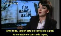 """Actriz siria Amal Arafa: """"Nos han criado para odiar a Israel"""""""