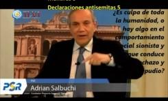 Adrián Salbuchi (Argentina): 12 Mentiras y 14 declaraciones antisemitas en 450 segundos