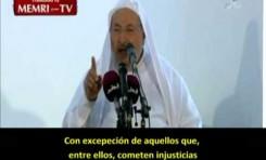 """Al-Qardawi: """"Si invitáis judíos yo no asistiré"""""""