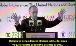 """Alan Dershowitz (EE.UU.) """"La ONU es culpable de la no paz en medio oriente"""""""