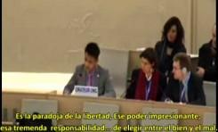 "Amran Houssain (ONU) ""Soy un musulmán orgulloso defendiendo a Israel"""