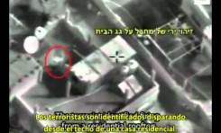 Así actúa el terrorismo palestino: Escudos humanos