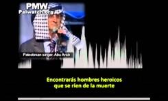 Canción radial palestina exaltando el terrorismo suicida