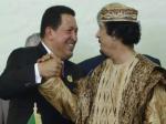 Hugo Chavez habla sobre el dictador libio Muhamar Kadhafi