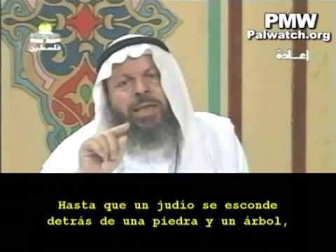 Clérigo palestino: Los judíos son cerdos y monos
