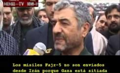 Comandante iraní reconoce el apoyo al Hamás