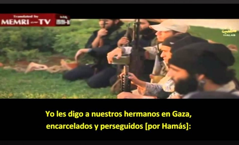 Combatientes palestinos de ISIS en Alepo amenazan a Hamás