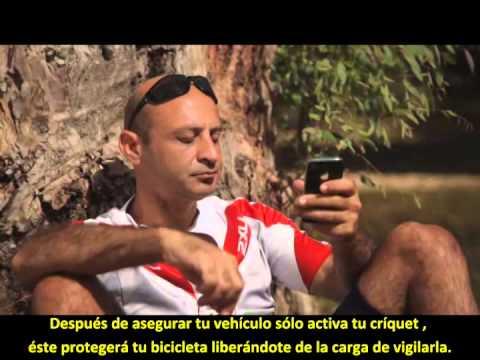 Cricket - Alarma inteligente para bicicletas