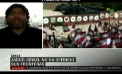 Daniel Jadue (Chile) 11 mentiras 1 frase antisemita en 4 minutos