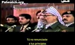 Educando al odio: Clip en honor a Yasser Arafat
