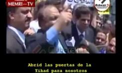"""Egipto: """"Si"""" a la destrucción de Israel"""