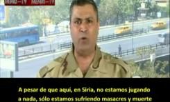 """Ejército Libre de Siria acusa a Rusia por """"armas químicas"""""""