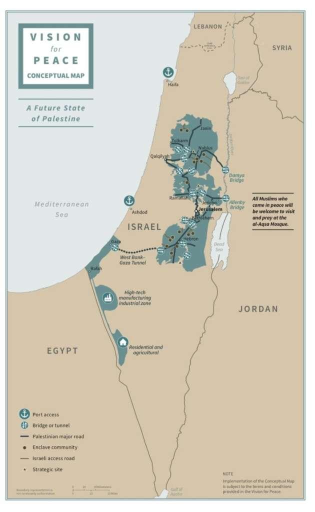 Este plan de paz viene con un mapa, ¿Por qué es esto significativo? – Por Herb Keinon (The Jerusalem Post)