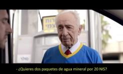 Genial! Shimon Peres busca trabajo
