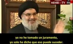 """Hassan Nassrallah (Hezbollah): """"No tenemos la capacidad para lanzar una guerra contra Israel"""""""