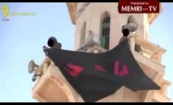 Hezbollah iza su bandera en Qusseir (Siria)