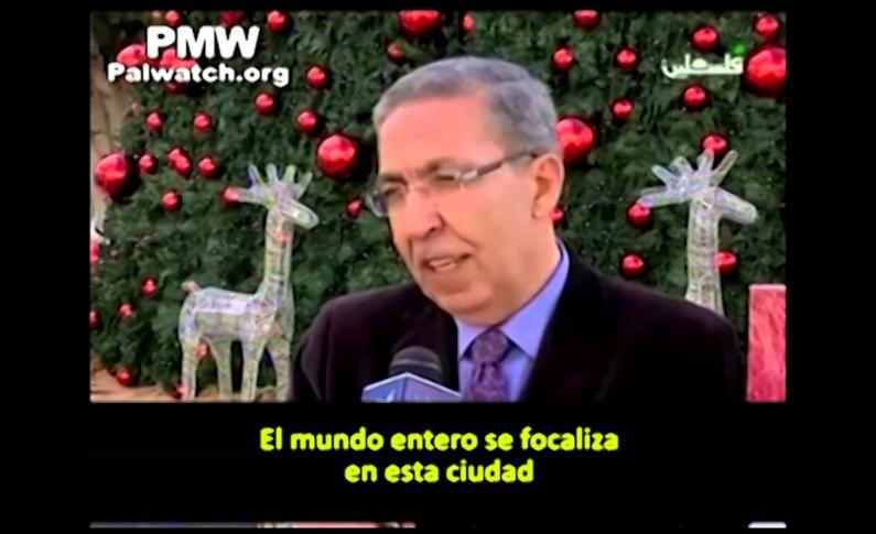 """Historiador palestino: """"Jesús es palestino"""""""