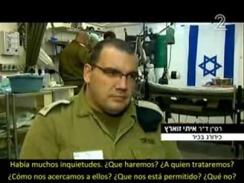 Hospital militar israelí salva cientos de heridos de guerra Sirios