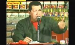 Hugo Chavez Frias (Venezuela): 1 declaracion antisemita y 6 mentiras en poco mas de 3 minutos