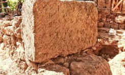 Iglesia bizantina descubierta en la reserva natural de Banias - Por Hannah Brown (Jerusalem Post)