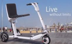 ¡Otro invento israelí! El primer scooter transportable que te dejará con la boca abierta