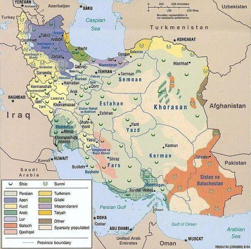Se incrementa la oposición étnica al régimen de Irán – Por Teniente Coronel (Ret.) Michael Segall