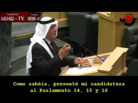 Islamista jordano besa el micrófono