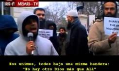 Islamistas en Londres contra la campaña francesa en Mali