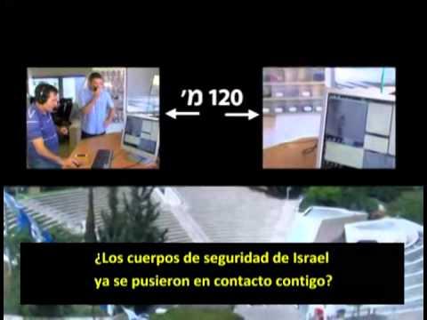 Israel: Un rayo lazer te espía a cientos de metros