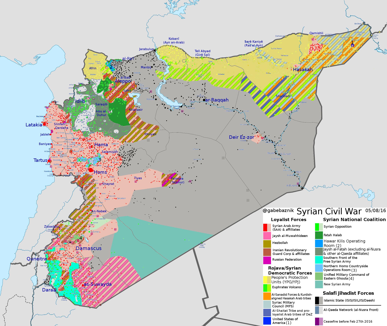 Una batalla existencial por el futuro demográfico de Siria – Por Harold Rhode (JCPA)