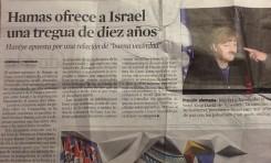 """""""La Vanguardia"""" nos ejemplifica un patrón informativo - Por Gabriel Ben-Tasgal"""
