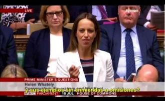 La Primera Ministra británica DESTRUYÓ al Partido Laborista por su antisemitismo