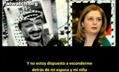 La viuda de Arafat habla sobre la planificación de la Intifada