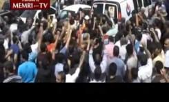 Libaneses sunitas enfrentan a Hezbollah durante un entierro