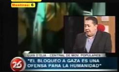 Luis D'Elia II (Argentina): 11 mentiras y 1 declaracion antisemita en 6 minutos
