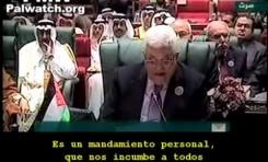 """Mahmoud Abbas: """"Debemos salvar a Jerusalén de la judeización"""""""