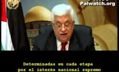 """Mahmoud Abbas define la forma conveniente para la """"Resistencia"""""""