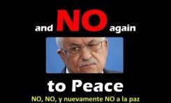 Mahmud Abbas vuelve a decirle NO a la paz