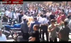 Manifestación en Teherán (3/10/12)