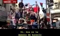 Manifestación islamista en Jordania