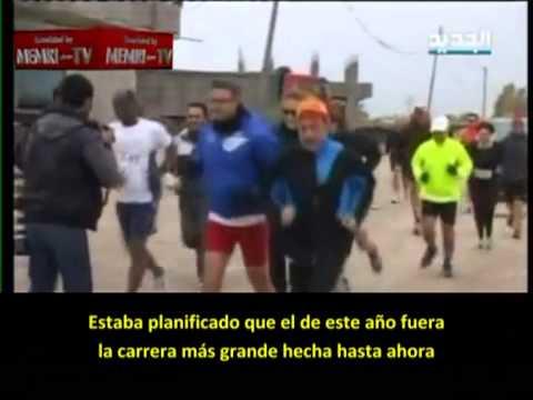 """Maratón de Gaza: """"Solamente para hombres"""""""
