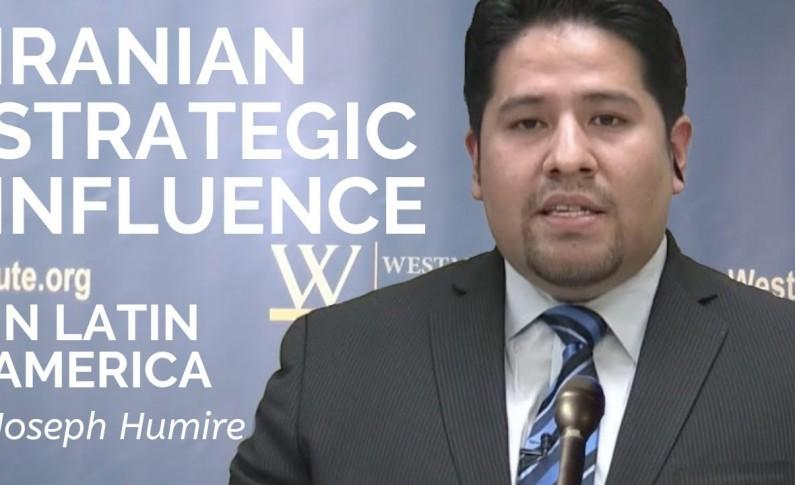 Joseph M. Humire refiriéndose a la participación de Irán en Venezuela - Por Gary C. Gambill (Foro del Medio Oriente)