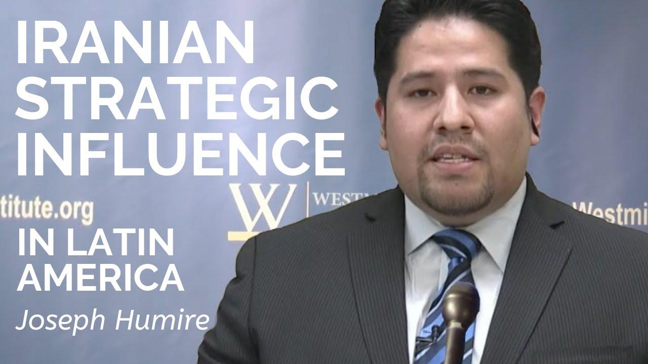 Joseph M. Humire refiriéndose a la participación de Irán en Venezuela – Por Gary C. Gambill (Foro del Medio Oriente)