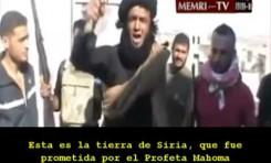 Mensaje salafista contra Bashar Al Assad
