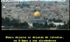 Mentira Palestina: Israel quiere destruir El Aksa